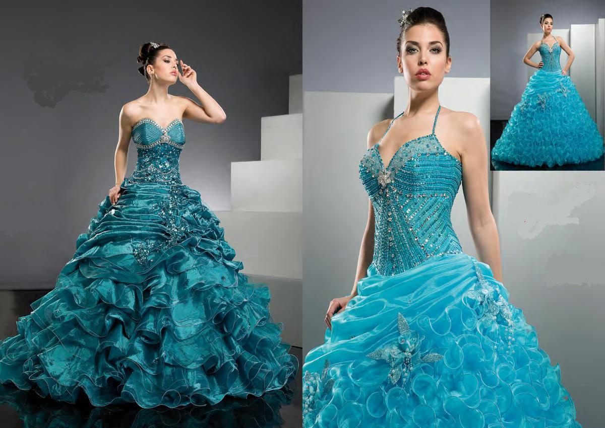 Coloured Wedding Gowns